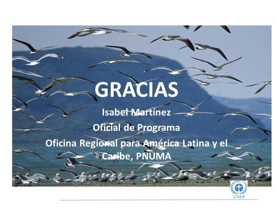 Oficina Regional para América Latina y el Caribe, PNUMA