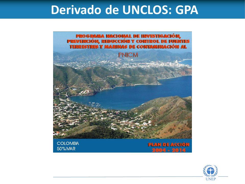 Derivado de UNCLOS: GPA
