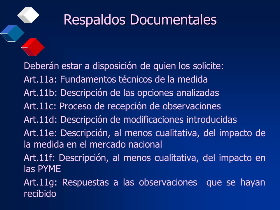 Respaldos Documentales