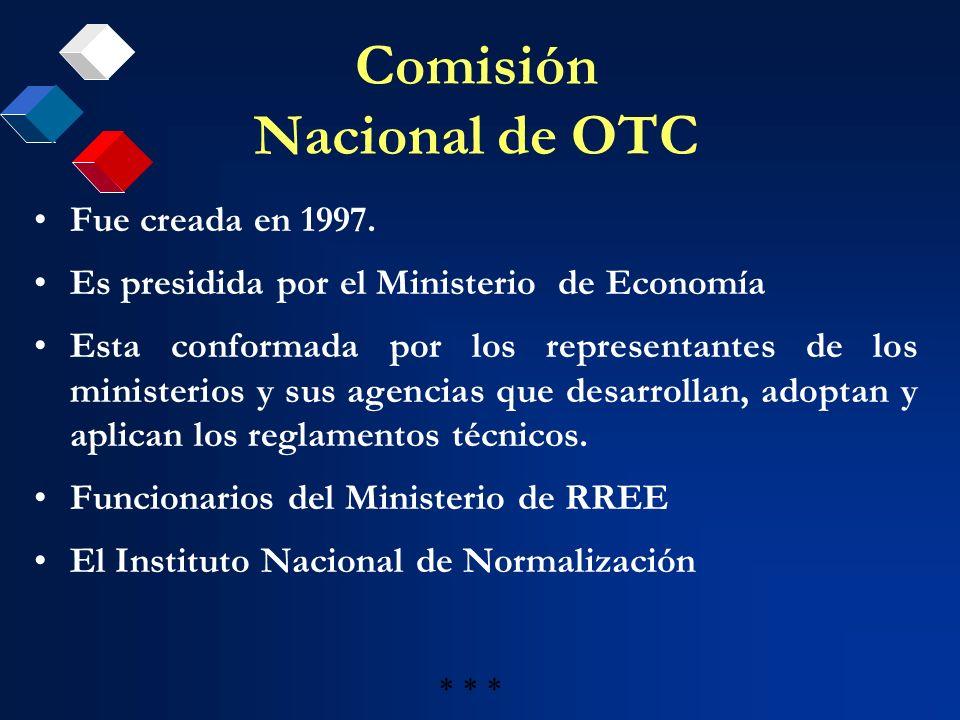 Comisión Nacional de OTC