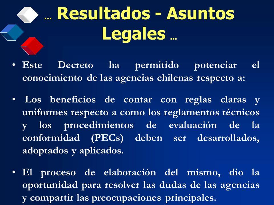 … Resultados - Asuntos Legales ...