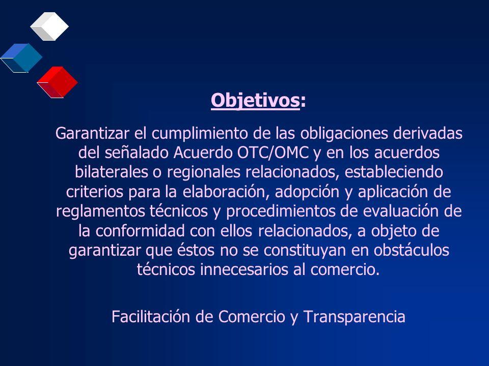 Facilitación de Comercio y Transparencia