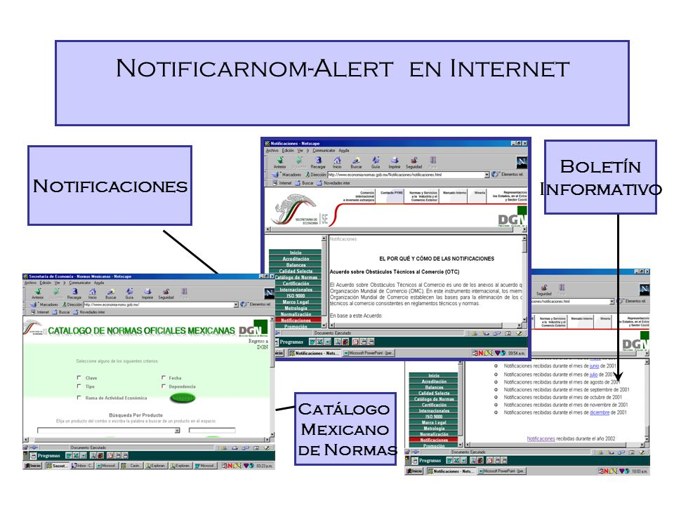 Notificarnom-Alert en Internet