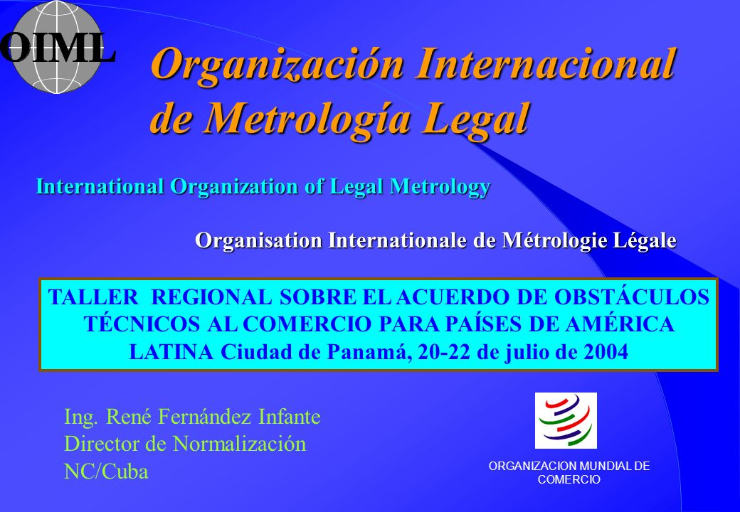 International Organization of Legal Metrology
