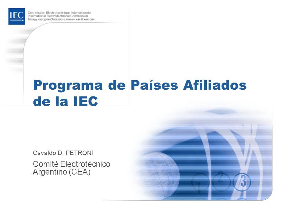 Programa de Países Afiliados de la IEC