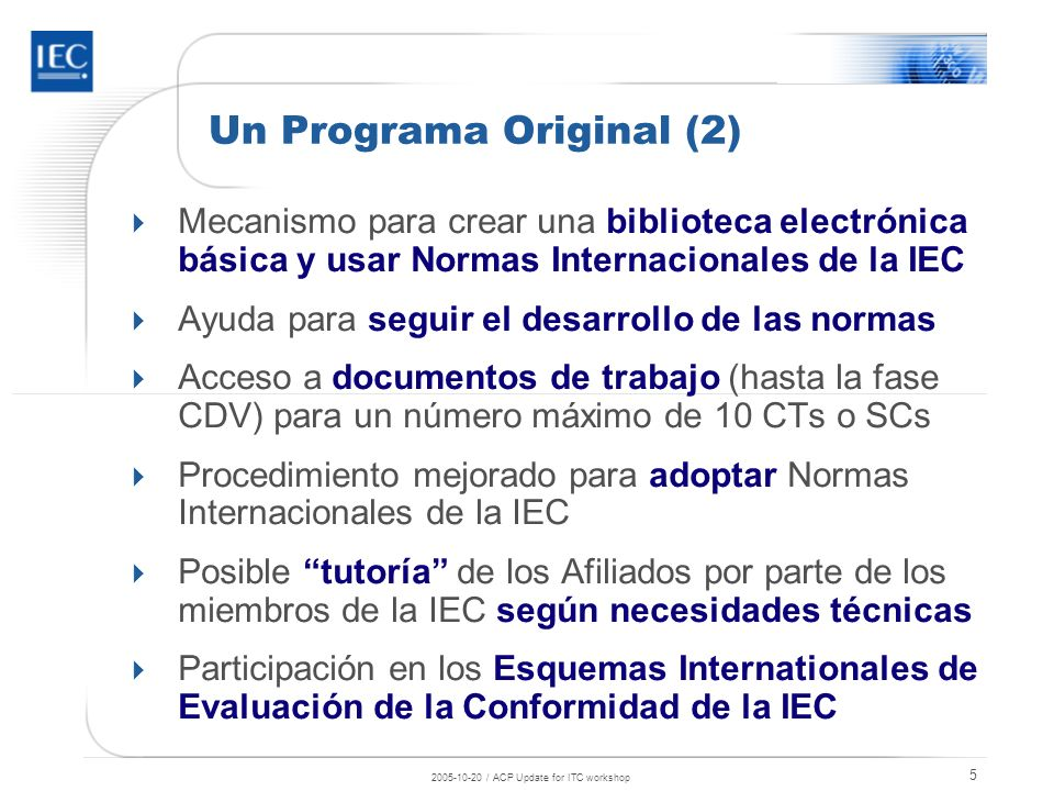 Un Programa Original (2)