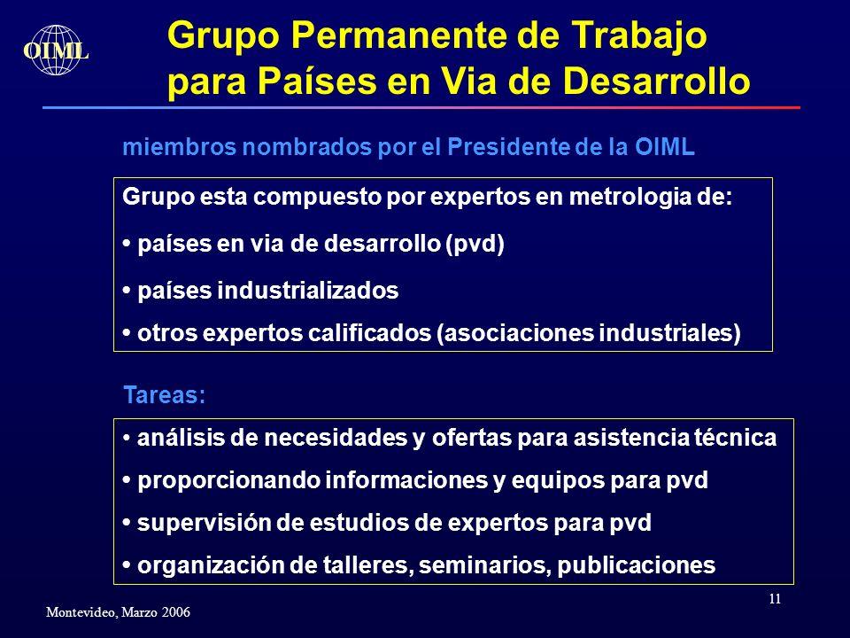 Grupo Permanente de Trabajo para Países en Via de Desarrollo