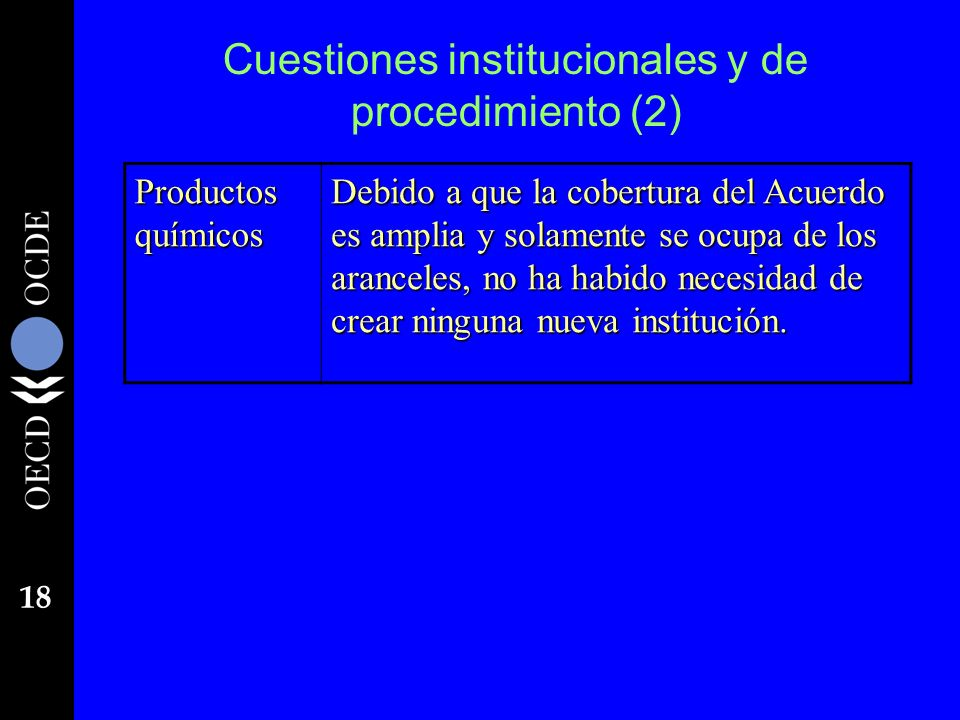 Cuestiones institucionales y de procedimiento (2)