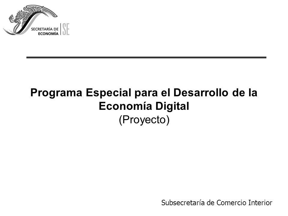 Programa Especial para el Desarrollo de la Economía Digital (Proyecto)