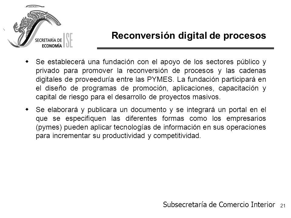 Reconversión digital de procesos