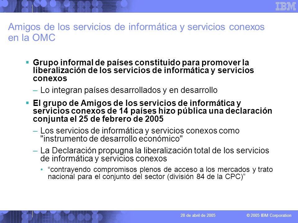 Amigos de los servicios de informática y servicios conexos en la OMC