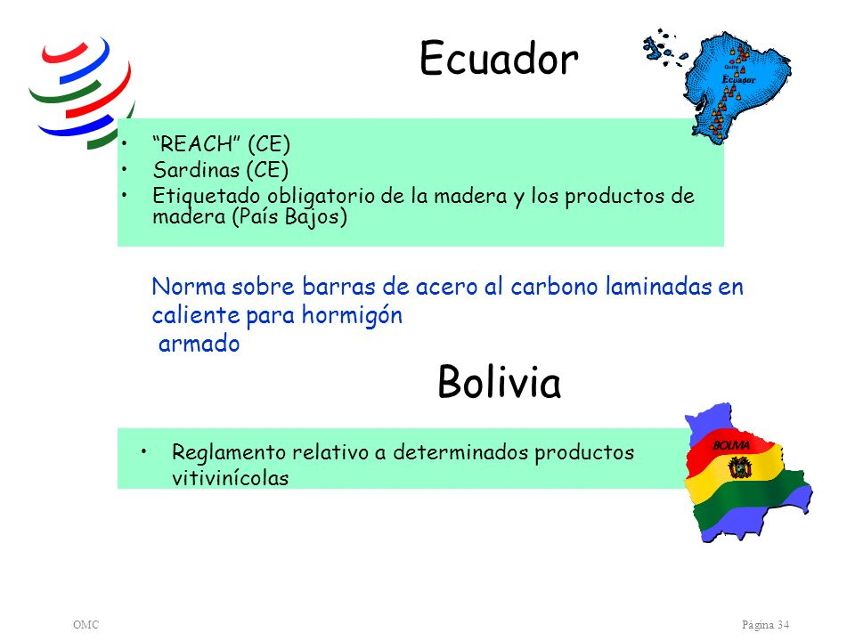 Ecuador Bolivia Norma sobre barras de acero al carbono laminadas en