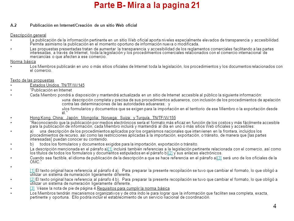 Parte B- Mira a la pagina 21