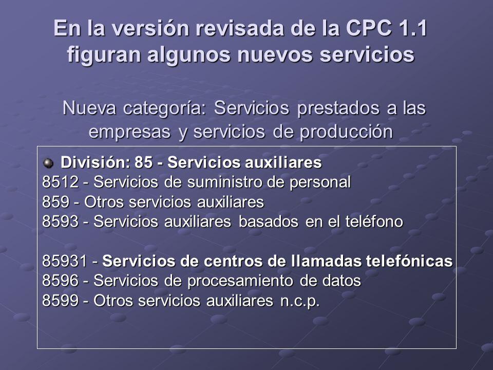 En la versión revisada de la CPC 1