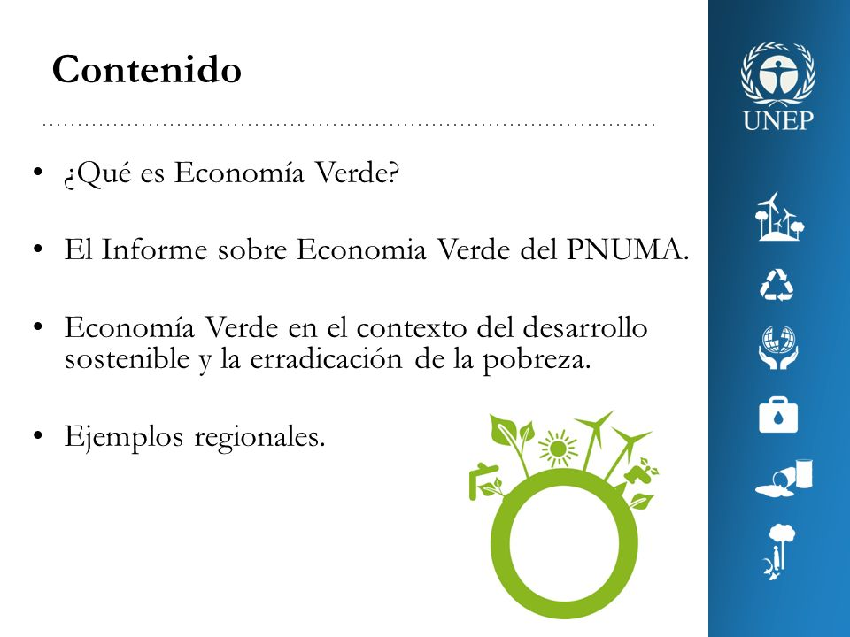 Contenido ¿Qué es Economía Verde