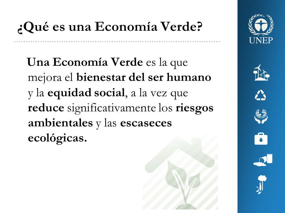¿Qué es una Economía Verde
