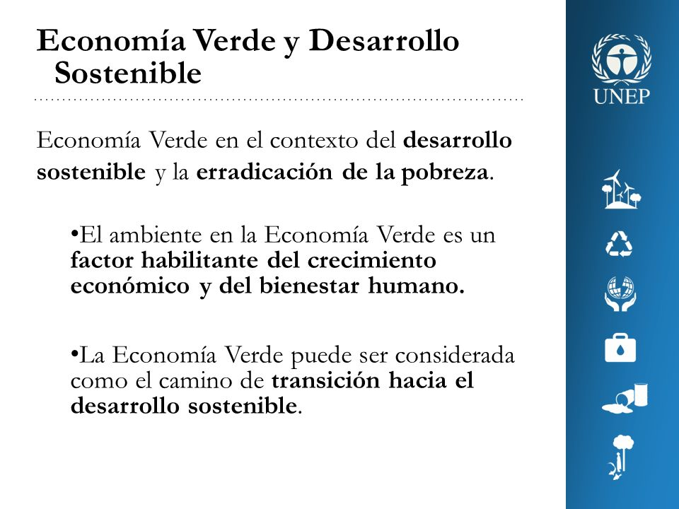 Economía Verde y Desarrollo Sostenible