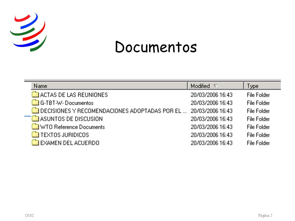 Documentos OMC Página 5