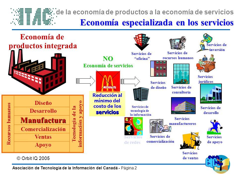 de la economía de productos a la economía de servicios
