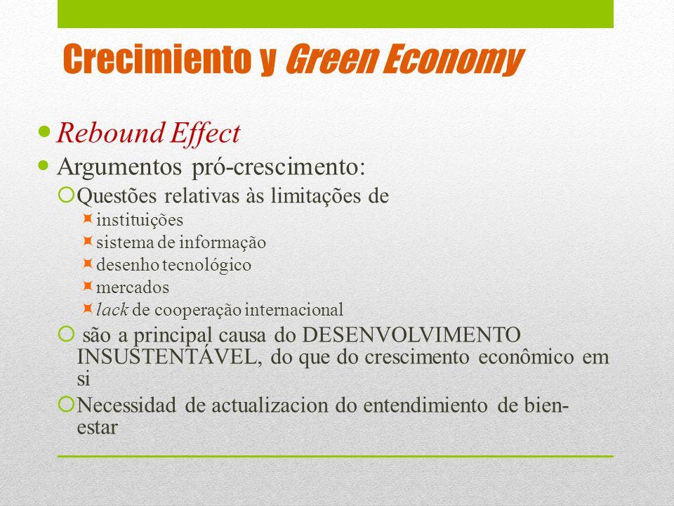 Crecimiento y Green Economy