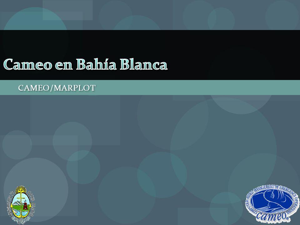 Cameo en Bahía Blanca CAMEO/MARPLOT