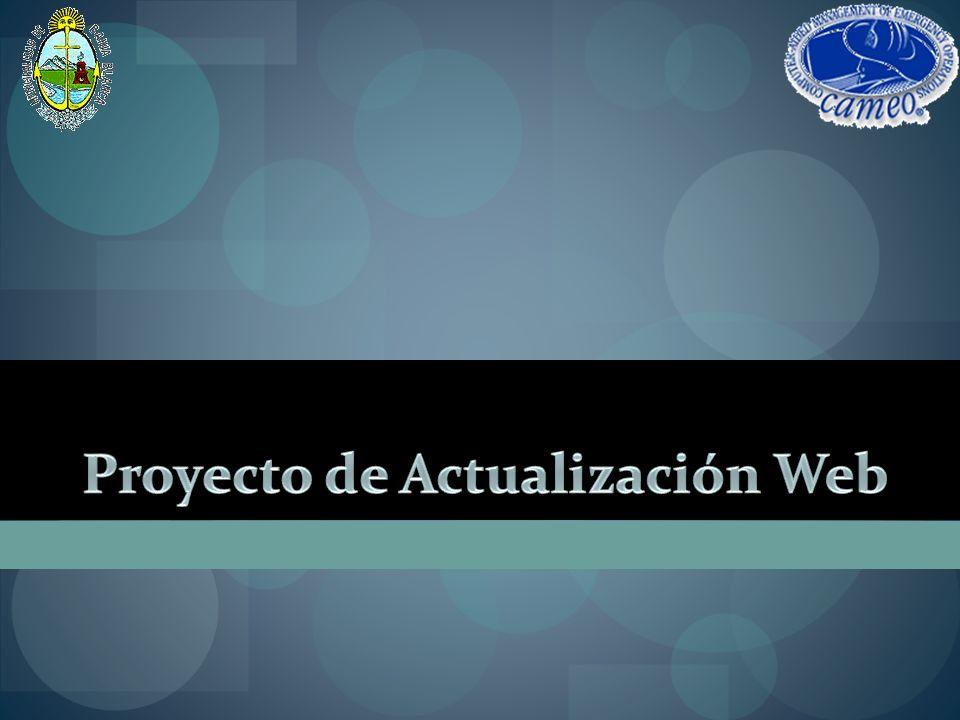 Proyecto de Actualización Web