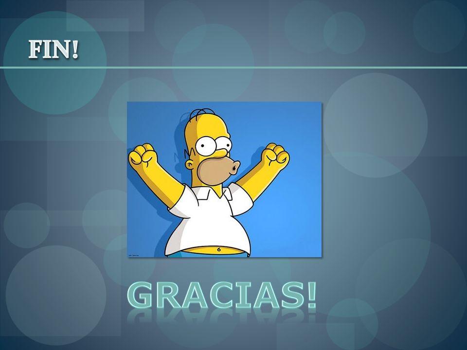 FIN! Gracias!