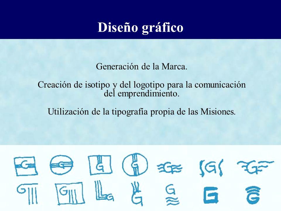 Diseño gráfico Generación de la Marca.