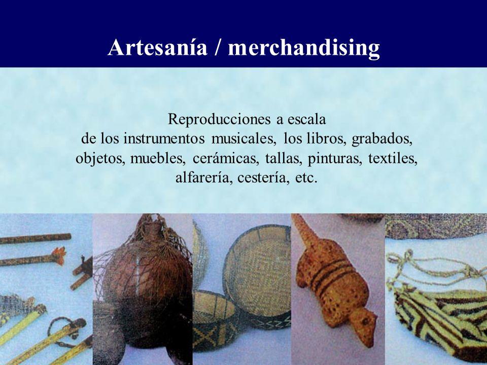 Artesanía / merchandising
