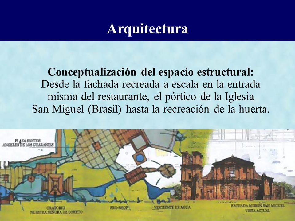 Conceptualización del espacio estructural: