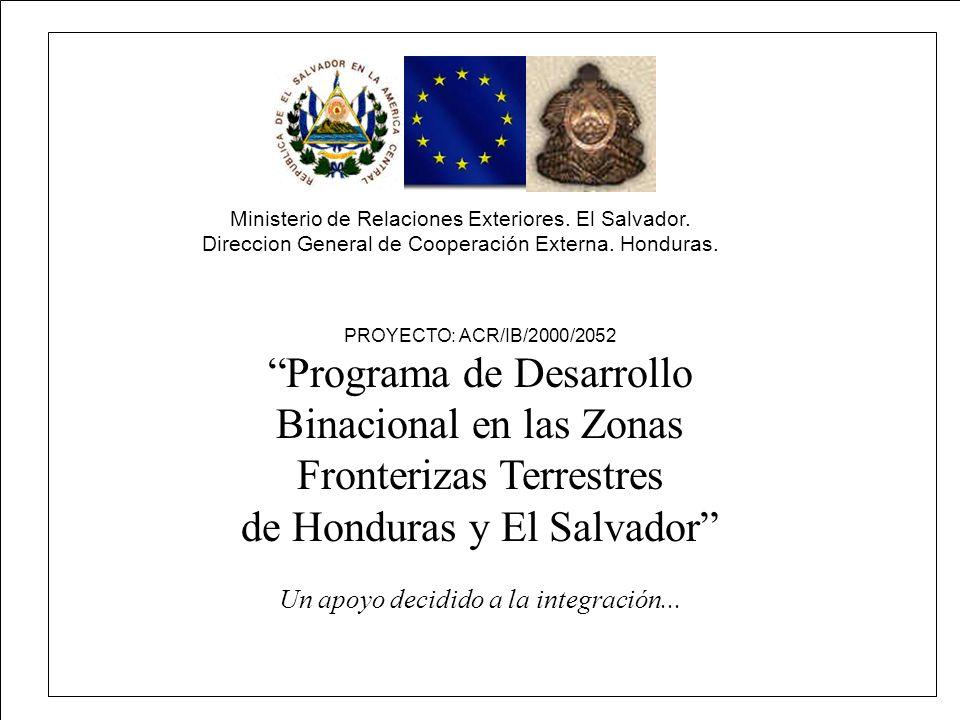 Programa de Desarrollo Binacional en las Zonas Fronterizas Terrestres