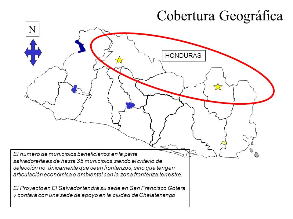 3. Cobertura Geográfica N HONDURAS