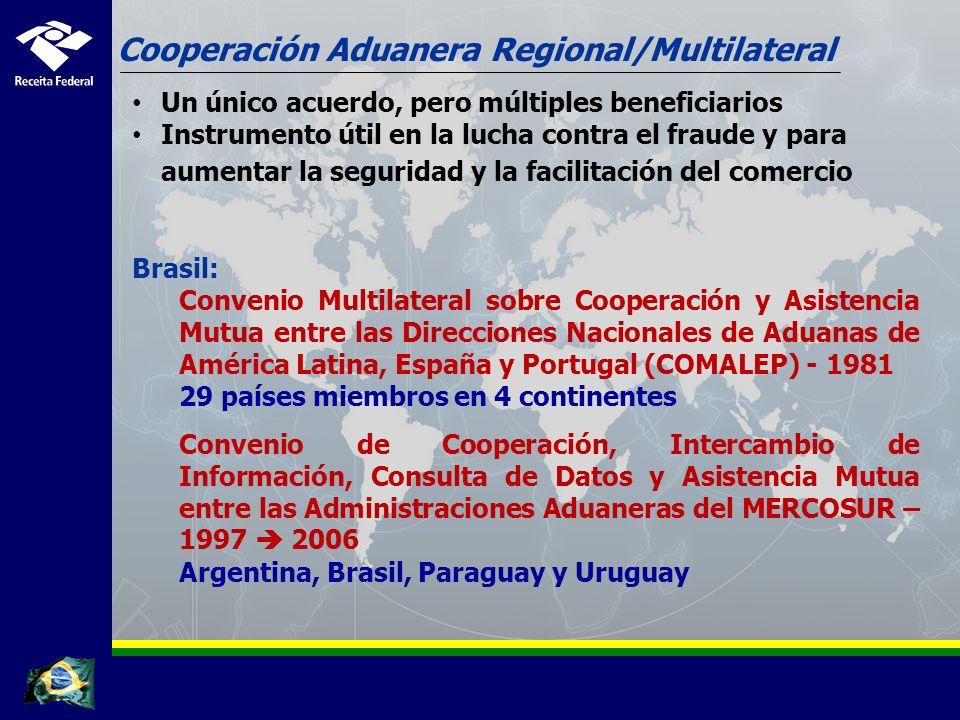 Cooperación Aduanera Regional/Multilateral