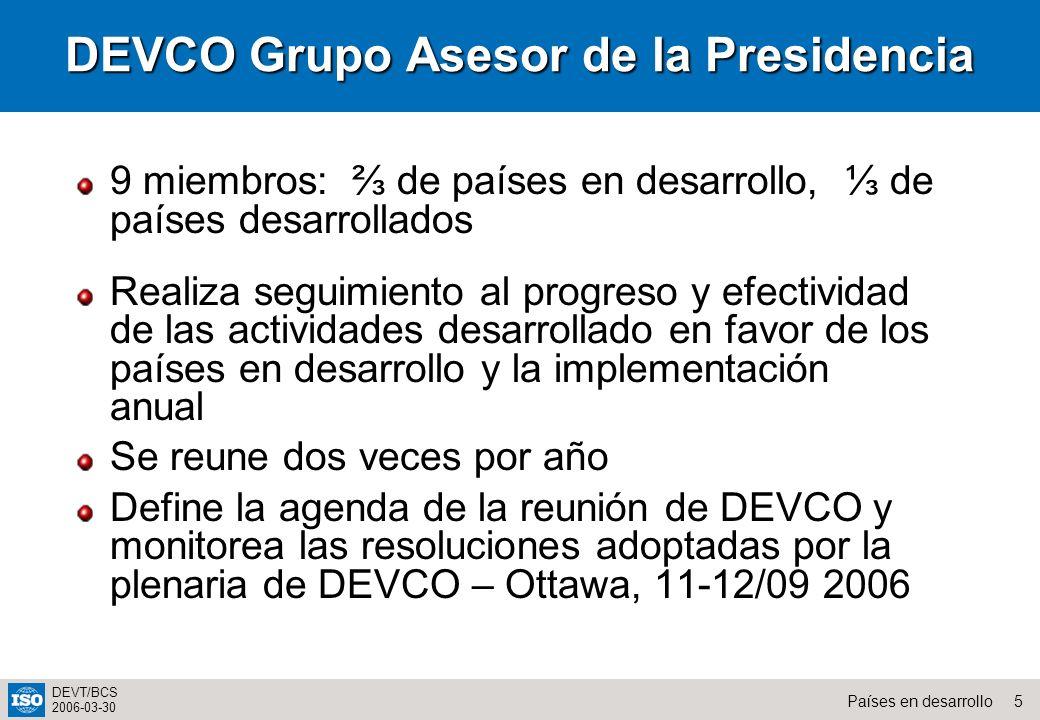 DEVCO Grupo Asesor de la Presidencia