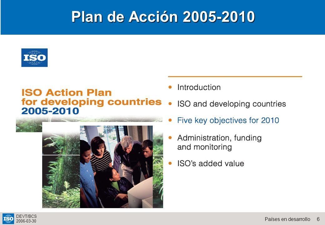 Plan de Acción 2005-2010