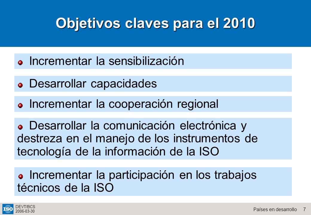 Objetivos claves para el 2010