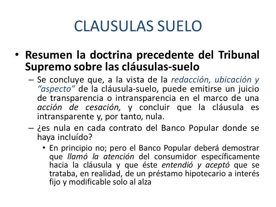Ejecucion hipotecaria ppt descargar for Juicio clausula suelo