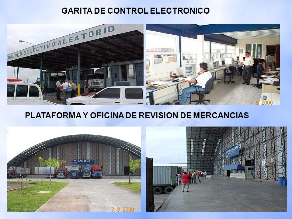 GARITA DE CONTROL ELECTRONICO