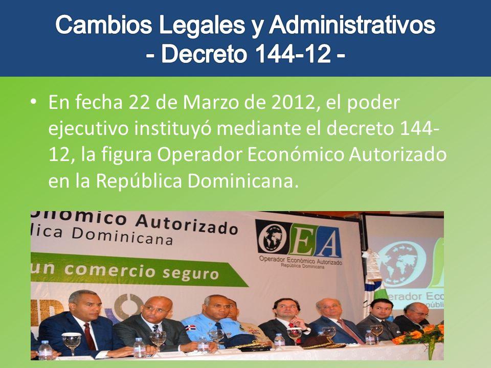 Cambios Legales y Administrativos