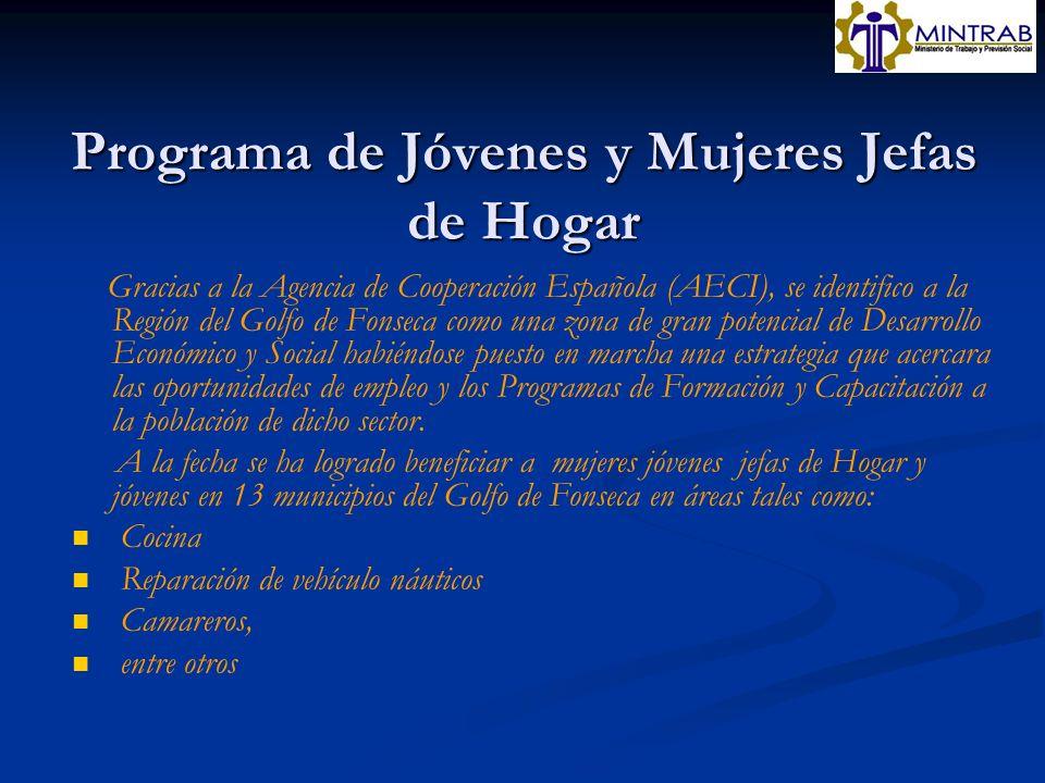 Programa de Jóvenes y Mujeres Jefas de Hogar