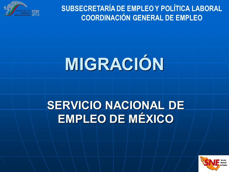 SERVICIO NACIONAL DE EMPLEO DE MÉXICO