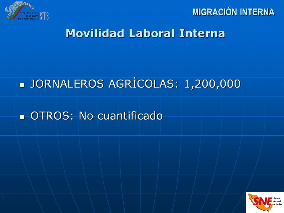 Movilidad Laboral Interna