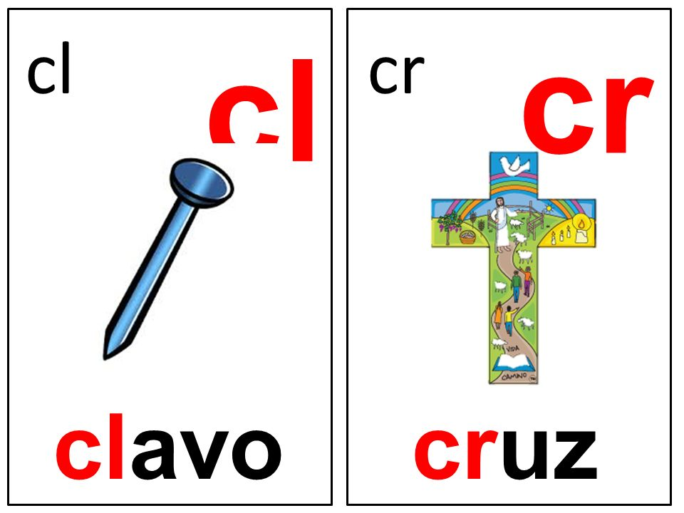 cr cl cl cr clavo cruz