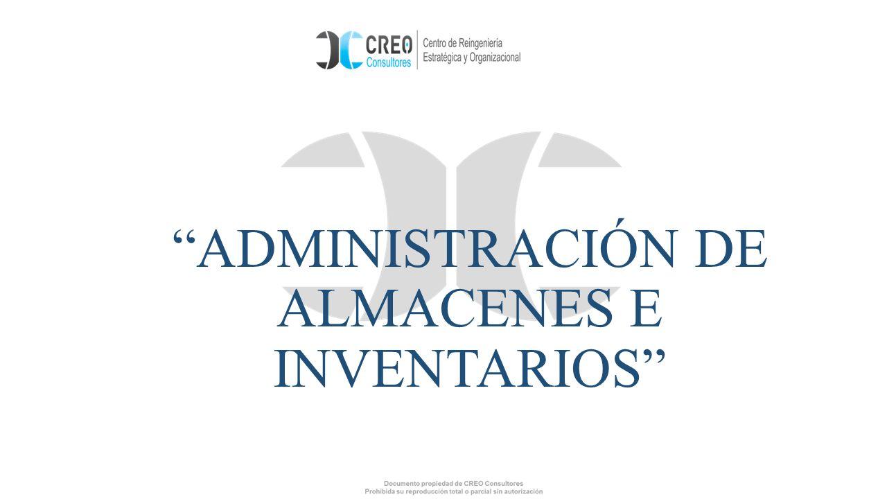 ADMINISTRACIÓN DE ALMACENES E INVENTARIOS