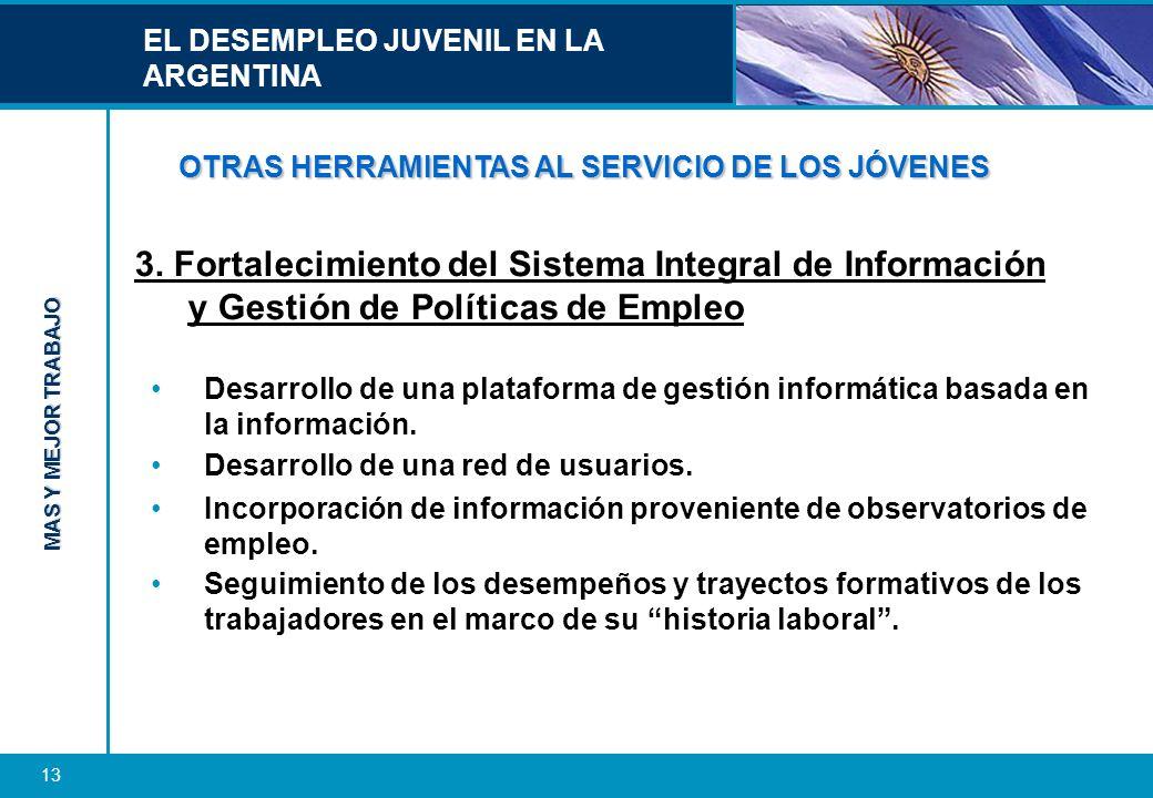 OTRAS HERRAMIENTAS AL SERVICIO DE LOS JÓVENES