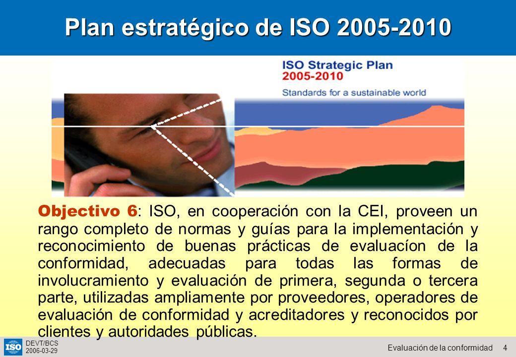Plan estratégico de ISO 2005-2010
