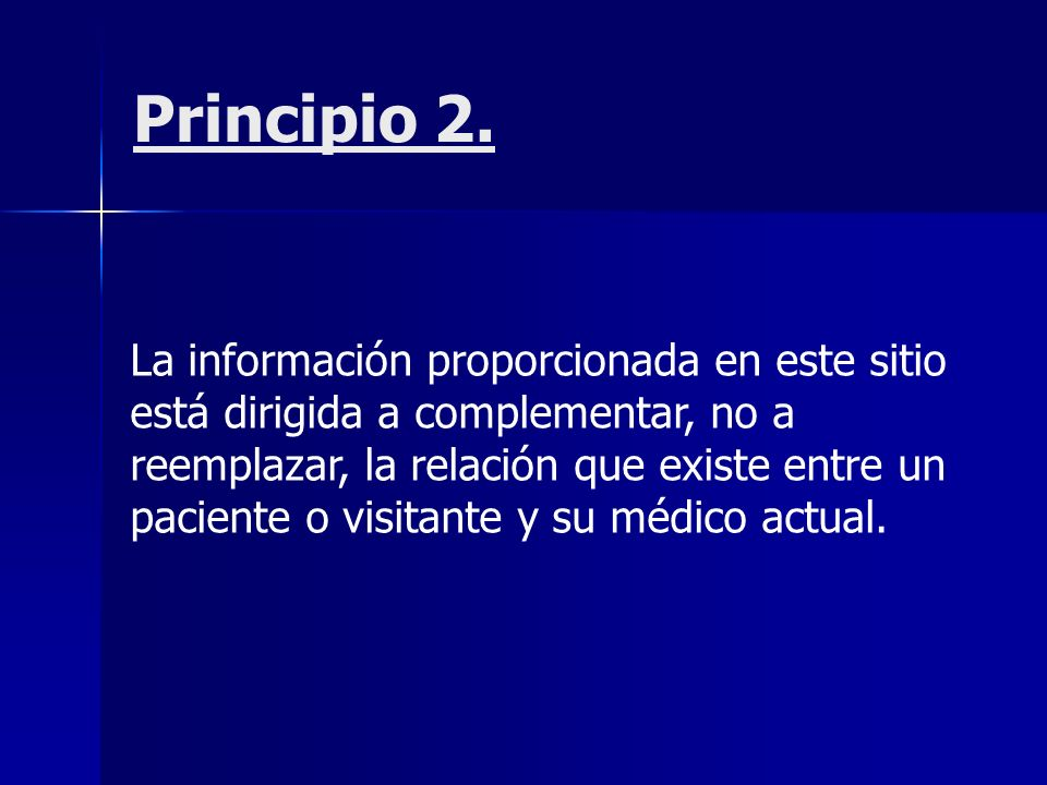 Principio 2.