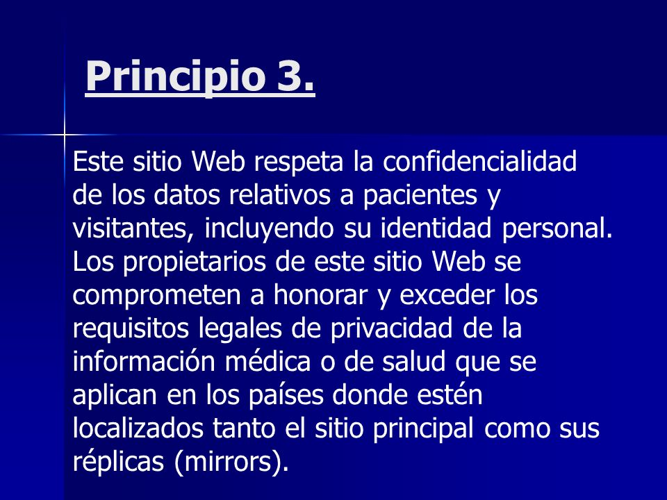Principio 3.