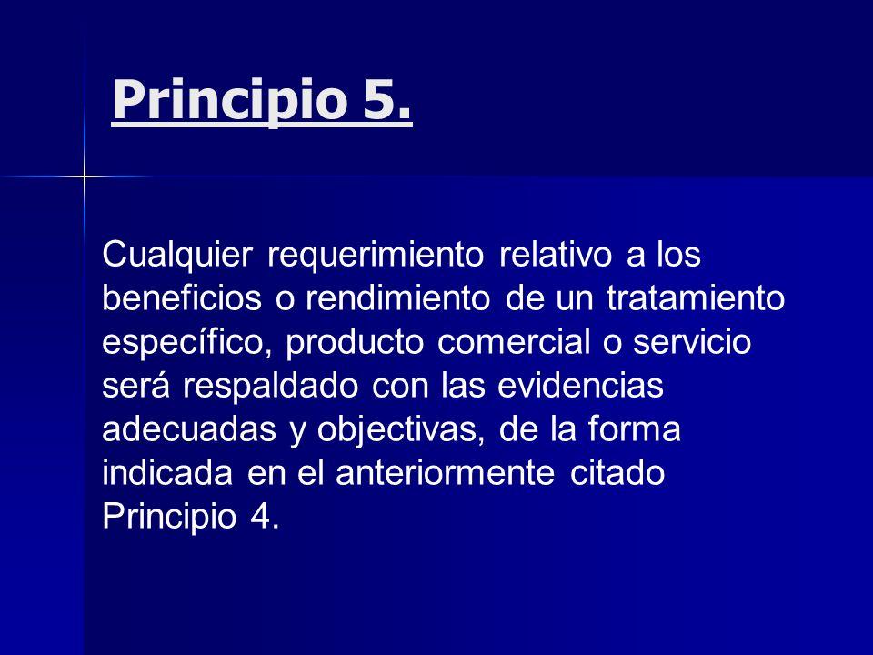 Principio 5.