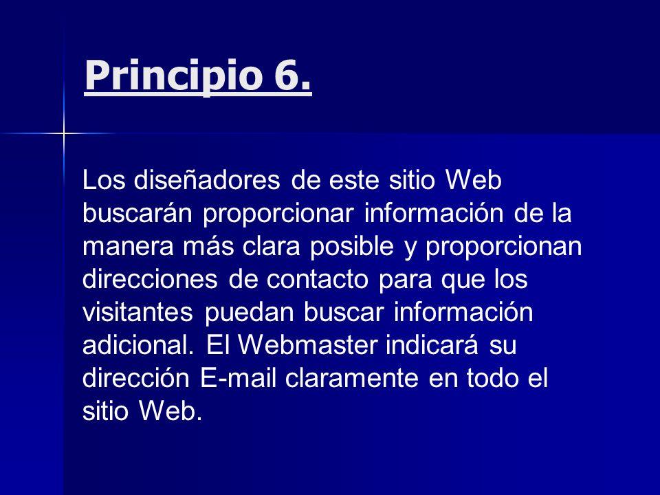 Principio 6.
